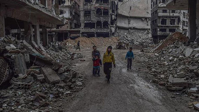 BM'den Doğu Guta çağrısı: ''Cehennemi yaşıyor''