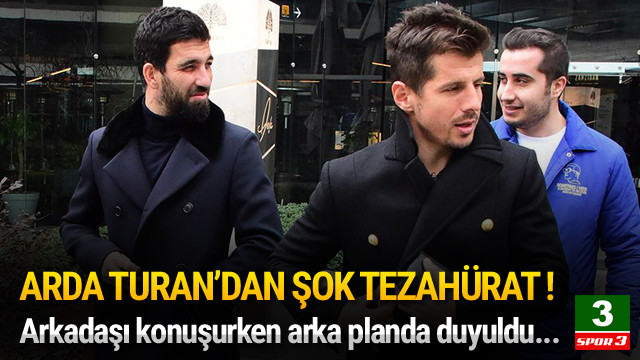 Arda Turan: Haydi bastır Beşiktaş !