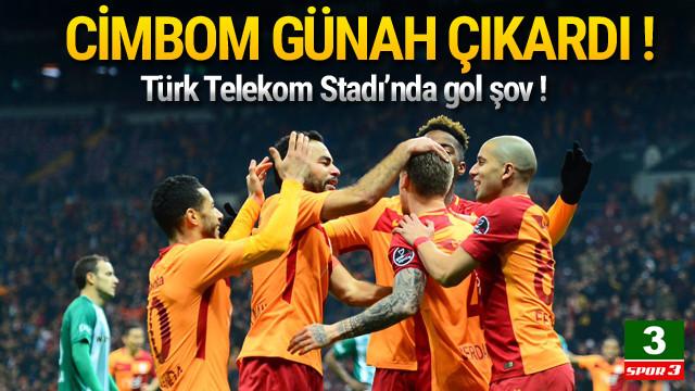 Galatasaray Bursaspor'a gol yağdırdı !