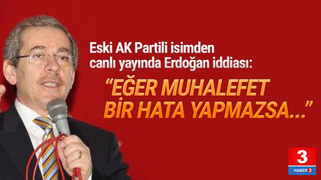 ''Erdoğan cumhurbaşkanlığı seçimini kaybeder''
