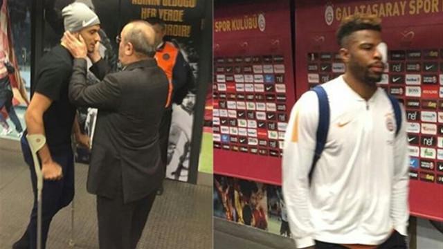 Galatasaray'da çifte şok ! 2 sakatlık birden...