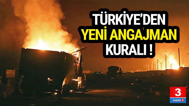 Türkiye'den yeni angajman kuralı !