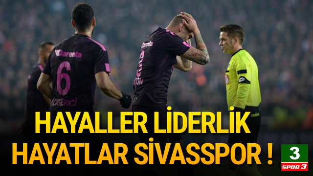 Galatasaray'a Sivas darbesi !