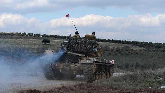TSK'dan Afrin açıklaması: ''Bir tankımız isabet aldı''