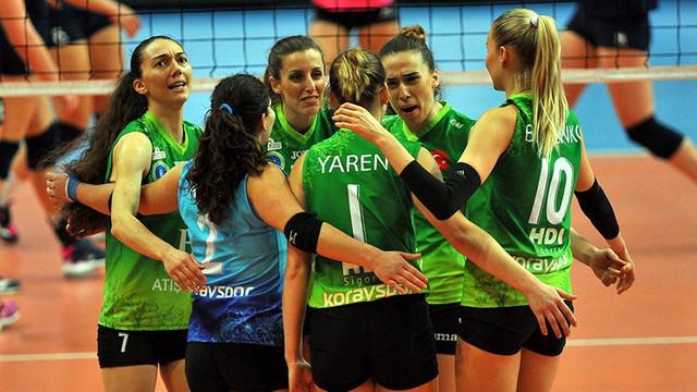 Bursa Büyükşehir Avrupa'da çeyrek finalde !