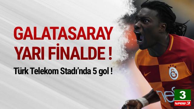 Galatasaray kupada yarı finalde !