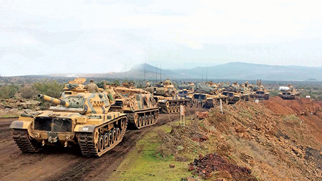 TSK konvoyu o bölgeye ulaştı