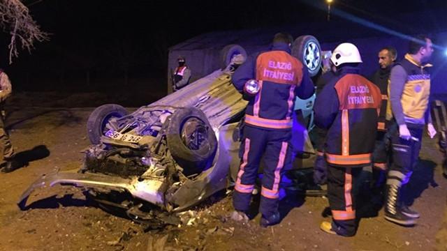 Polislerin bulunduğu araç takla attı: 1'i şehit 2 ölü
