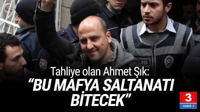Ahmet Şık: ''Bu mafya saltanatı hak ettiği yere gidecek''