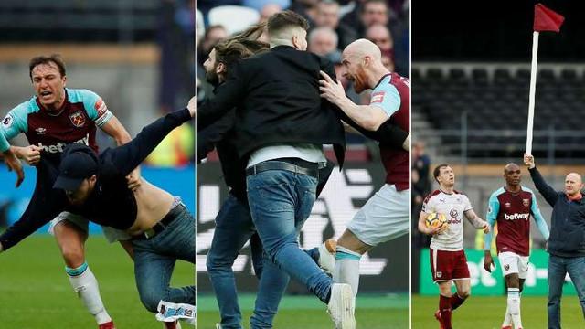 West Ham kaybetti, taraftarlar çılgına döndü !