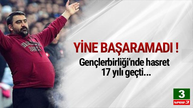 Gençlerbirliği'nin Beşiktaş kabusu sürüyor