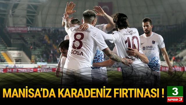 Akhisarspor - Trabzonspor: 1-3