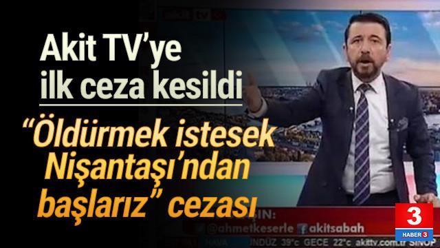 Akit TV'ye ilk ceza