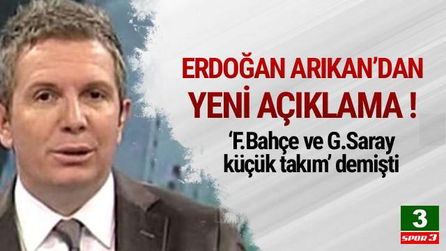 Erdoğan Arıkan'dan yeni açıklama