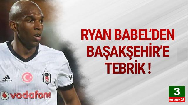 Babel'den Medipol Başakşehir'e tebrik