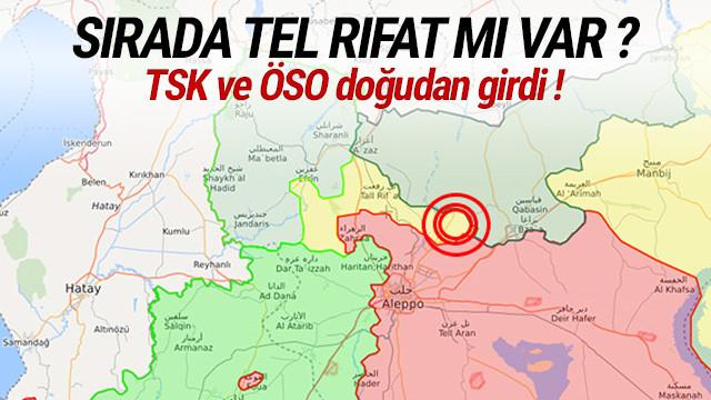 TSK ve ÖSO El Bab'ın doğusundaki bir köyü temizledi