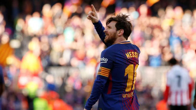 Messi'den gol sonrası ilginç dans !