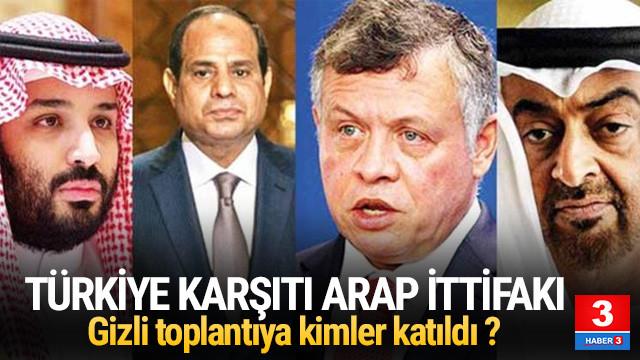 5 Arap ülkesi Türkiye'ye karşı ittifak oldu