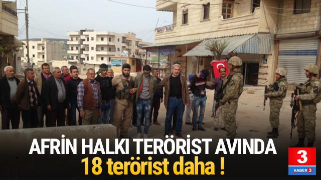 TSK açıkladı ! Afrin halkı terörist avında