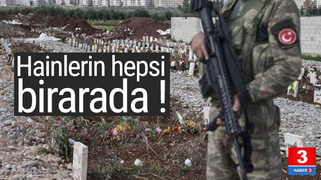PKK'lı hainlerin toplu mezarı bulundu