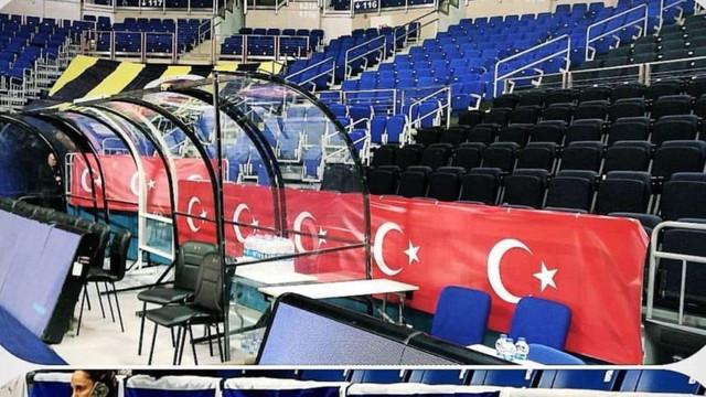 Fenerbahçe'den İsrail'e bayrak yanıt !
