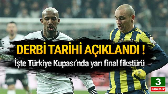 Fenerbahçe - Beşiktaş maçı ne zaman ?   Ziraat Türkiye Kupası