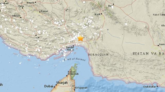 İran'da 5 büyüklüğünde deprem !