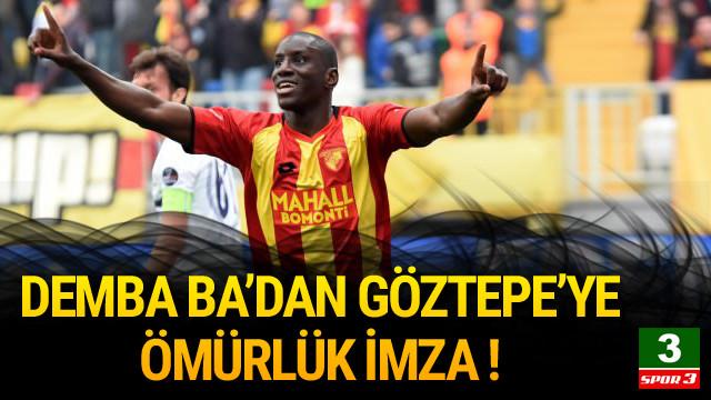 Demba Ba Göztepe'de kalıyor !