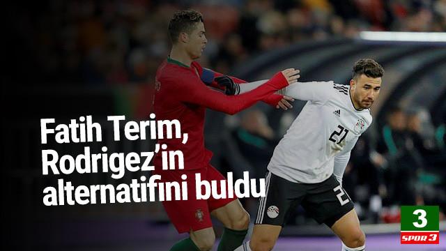 Fatih Terim, Rodrigues'in alternatifini Süper Lig'de buldu