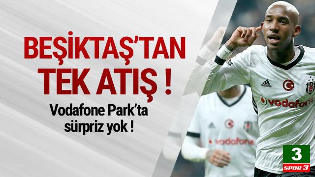 Beşiktaş Vodafone Park'ta sürprize izin vermedi