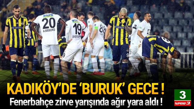 Fenerbahçe'ye evinde darbe !