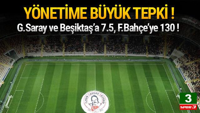 Malatyaspor yönetimine bilet tepkisi