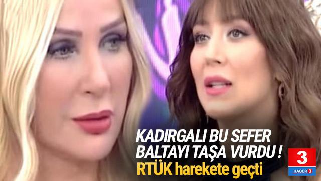 Seda Sayan'ın o sözleri RTÜK'ü harekete geçirdi