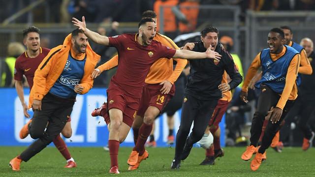 Roma Barcelona'yı eledi ! Tarih yazdılar...
