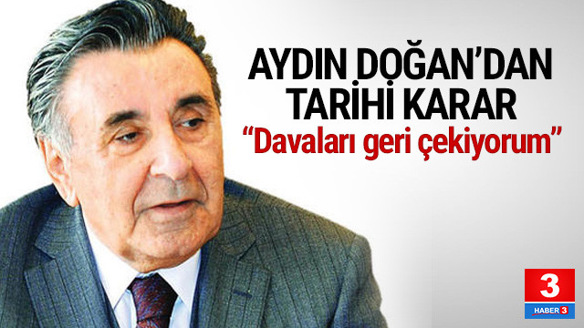Aydın Doğan'dan tarihi karar ! Hepsini geri çekti
