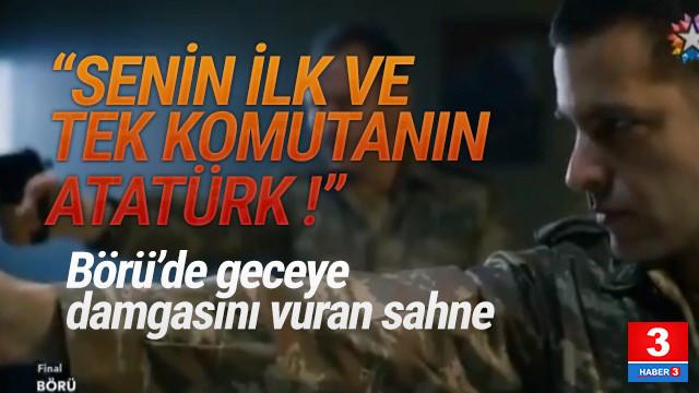''Albay Halis bir Fethullahçı senin ilk ve tek komutanın Atatürk''
