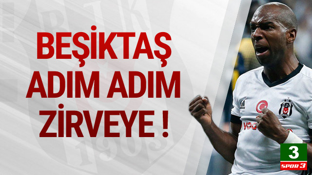 Beşiktaş zirveye göz kırptı !