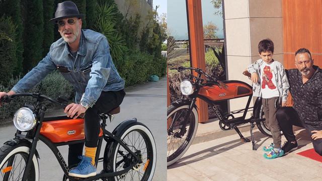Cem Yılmaz ile Ozan Güven'in bisiklet dostluğu