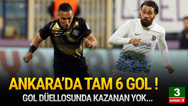 Ankara'da gol düellosu !