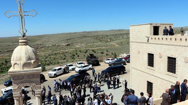 Manastır 100 yıl sonra yeniden açıldı