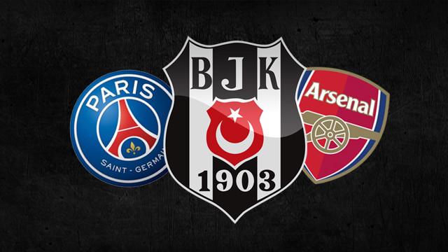 PSG ve Arsenal'dan Beşiktaş'a teklif var !