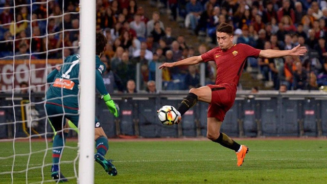 Cengiz Ünder attı, Roma kazandı !
