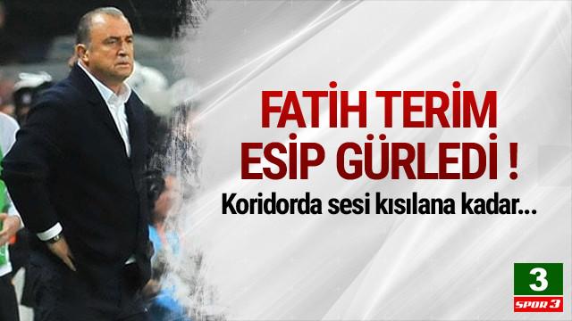 Fatih Terim maç sonu çılgına döndü !