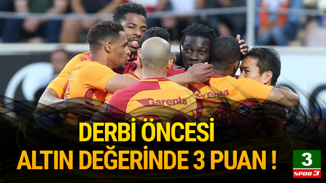 Alanyaspor - Galatasaray: 2-3