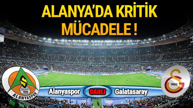 Alanyaspor - Galatasaray - Maç öncesi
