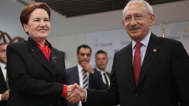 Kılıçdaroğlu ile Akşener'den sürpriz görüşme
