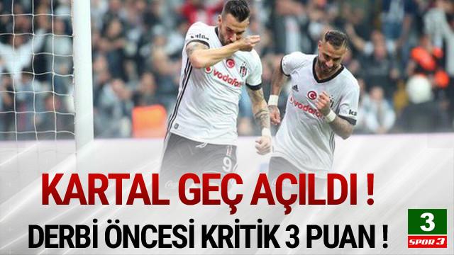 Beşiktaş derbiye kayıpsız gidiyor !