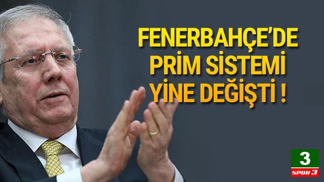 Fenerbahçe'de prim sistemi değişti !