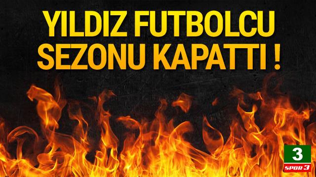 Kamil Ahmet Çörekçi sezonu kapattı