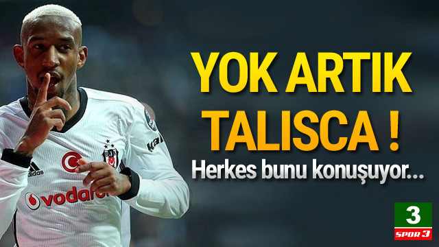 Beşiktaş'ta Talisca şov devam ediyor !